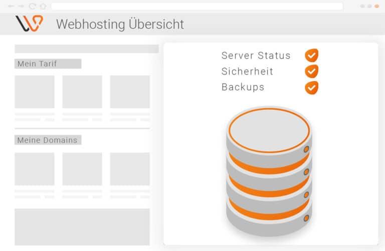 Webhosting Grafik