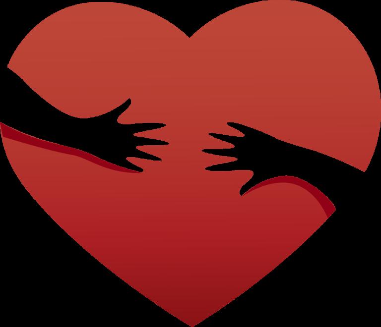 Herz Kinderhaende