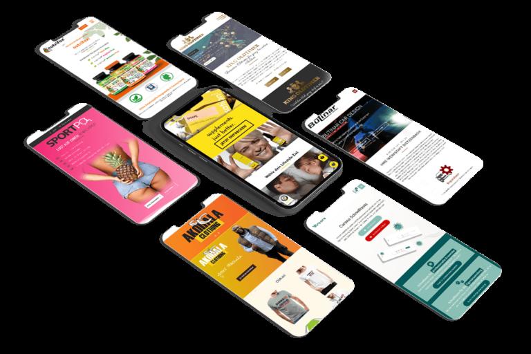 Webseiten Mobil